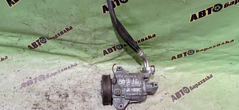 Компрессор кондиционера Nissan Tiida Latio SC11 HR15 2009