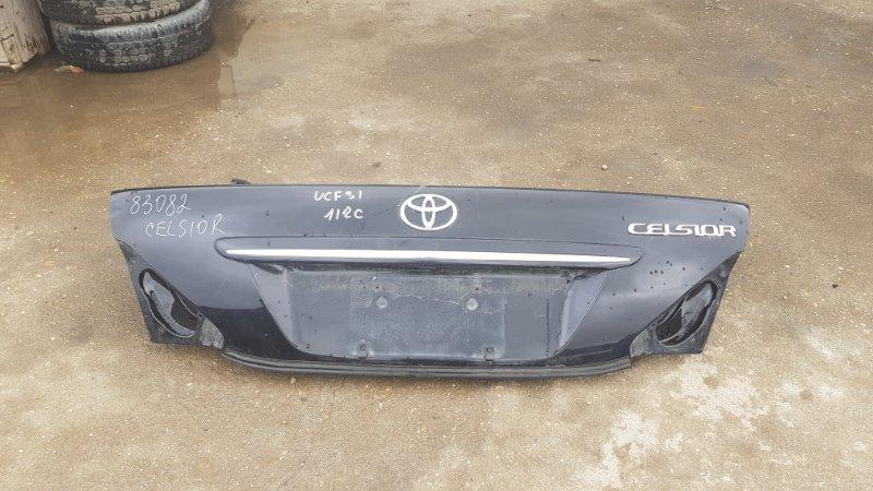 Крышка багажника Toyota Celsior UCF31 3UZ-FE 2003 задняя