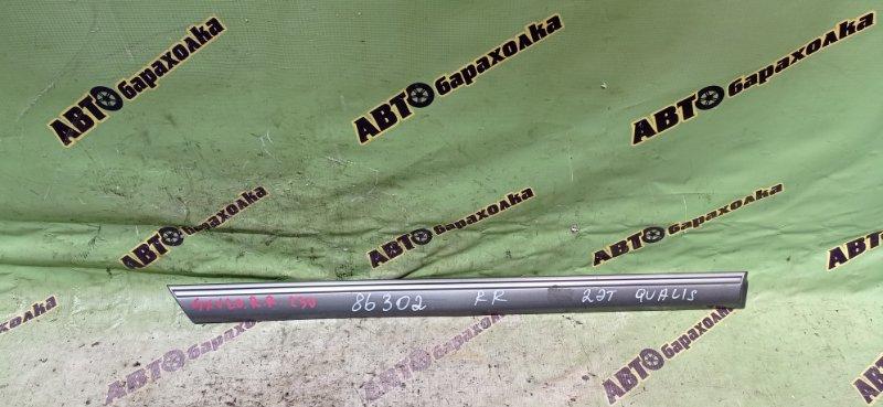 Молдинг на дверь Toyota Mark Ii Qualis SXV20 5S-FE 1999 задний правый