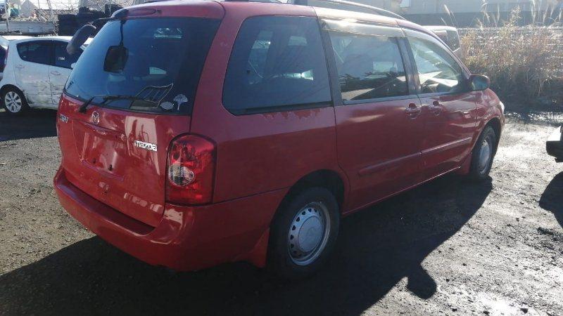 Молдинг на дверь Mazda Mpv LW3W L3 2002 задний правый