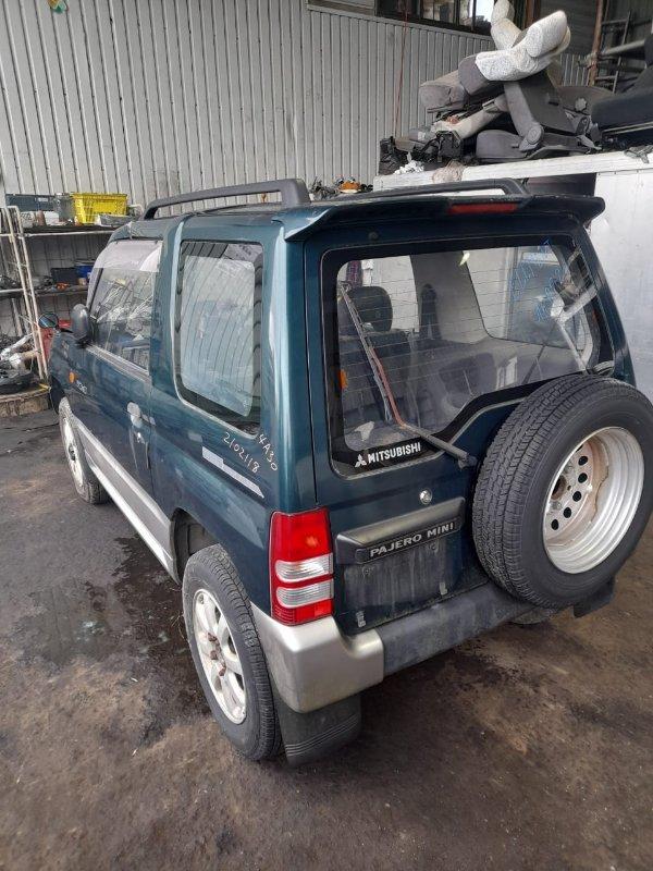 Дверь 5-я Mitsubishi Pajero Mini H56A 4A30 1995 задняя