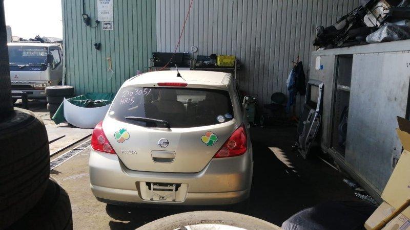 Дверь 5-я Nissan Tiida C11 HR15 2006 задняя