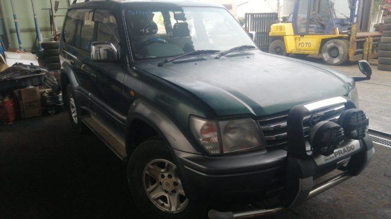 Капот Toyota Land Cruiser Prado KZJ95 1KZ-TE 1996 передний