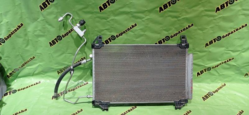 Радиатор кондиционера Toyota Vitz KSP130 1KR-FE