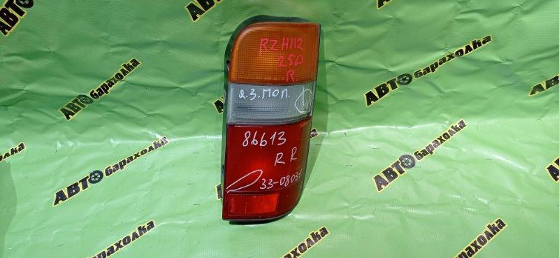 Стоп Toyota Hiace RZH112 1RZ-E 2002 задний правый