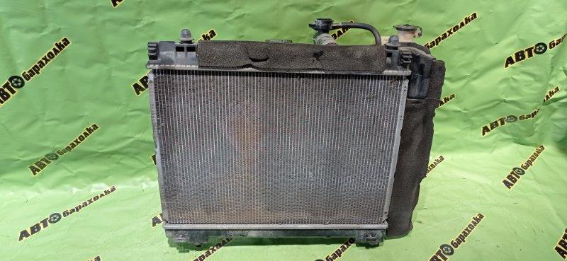 Радиатор основной Toyota Vitz KSP130 1KR-FE