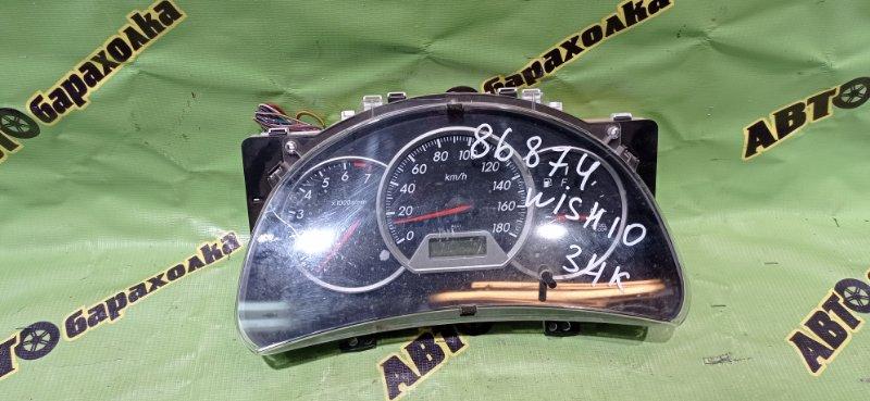 Спидометр Toyota Wish ZNE10 1ZZ-FE 2005