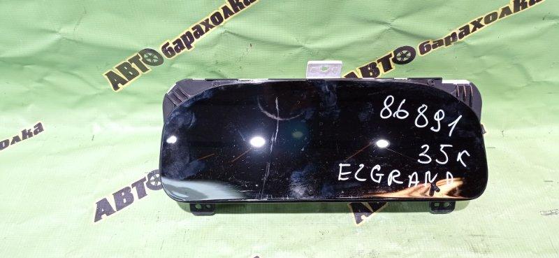 Спидометр Nissan Elgrand ATE50 ZD30