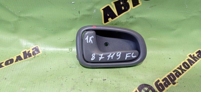 Ручка двери внутренняя Toyota Townace Noah SR50 3S-FE 1998 передняя левая