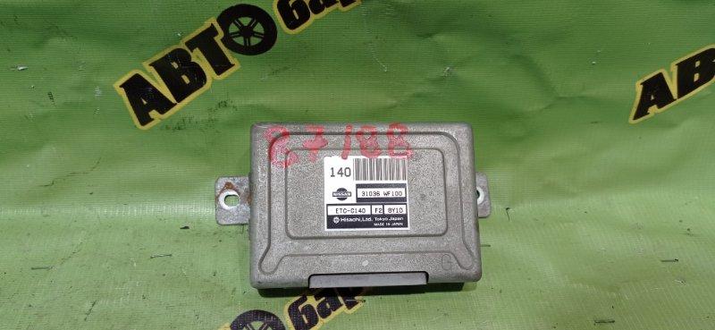 Блок переключения кпп Nissan Liberty PM12 SR20(DE) 1998