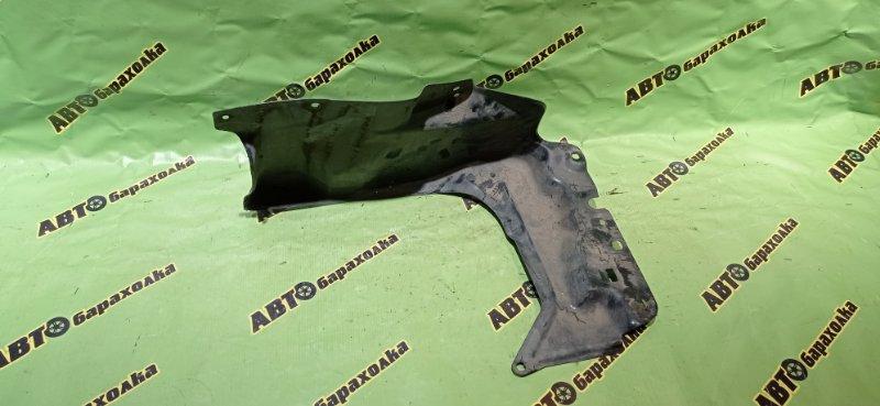 Защита двигателя Toyota Corolla Axio NZE141 1NZ-FE 2007 передняя левая
