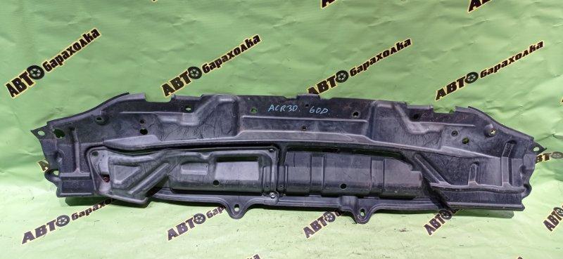 Защита бампера Toyota Estima ACR30 2AZ-FE 2003 передняя
