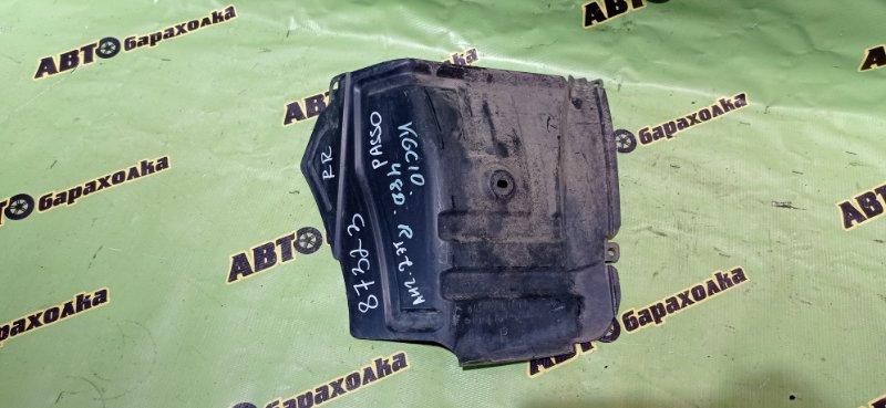 Подкрылок Toyota Passo KGC10 1KR-FE 2005 задний правый