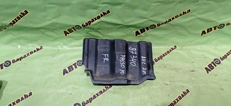 Защита двигателя Toyota Passo KGC10 1KR-FE 2008 передняя правая