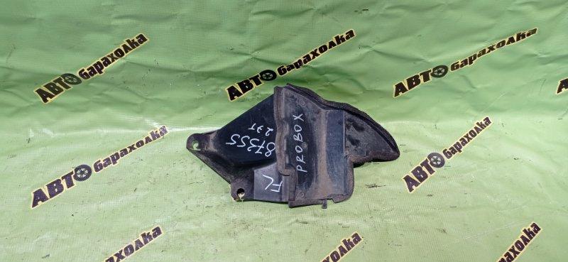 Защита двигателя Toyota Probox NCP51 1NZ-FE 2005 передняя левая