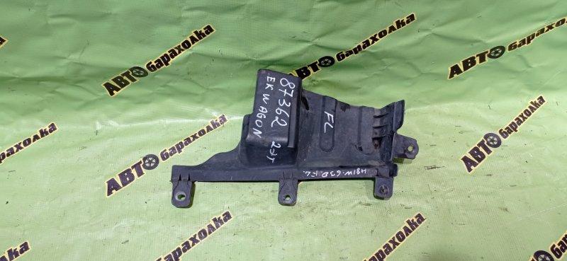 Защита двигателя Mitsubishi Ek Wagon H81W 3G83 2003 передняя левая