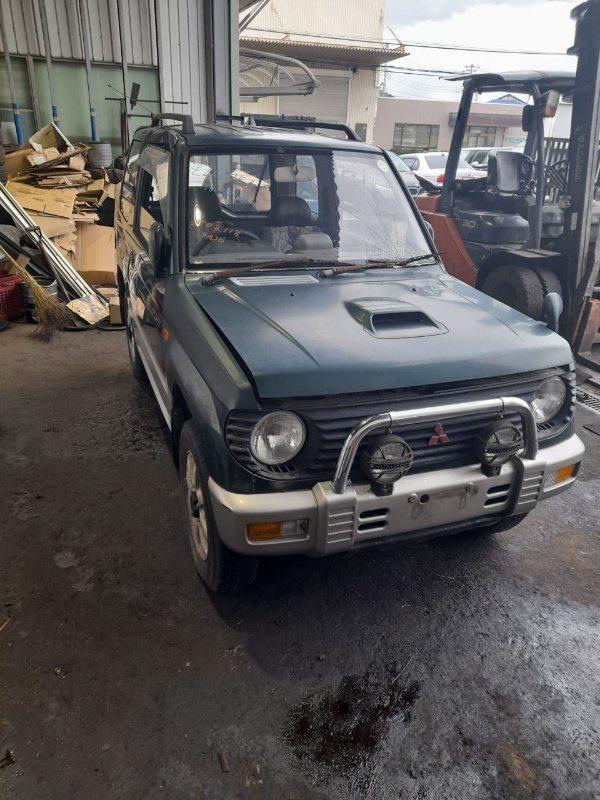 Бампер Mitsubishi Pajero Mini H56A 4A30 1995 передний