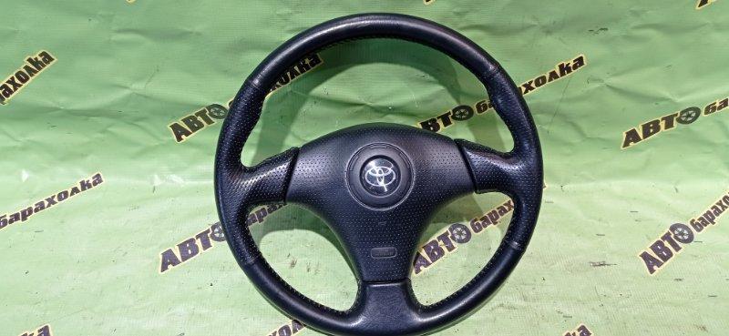 Руль с airbag Toyota Bb NCP31 1NZ-FE 2000
