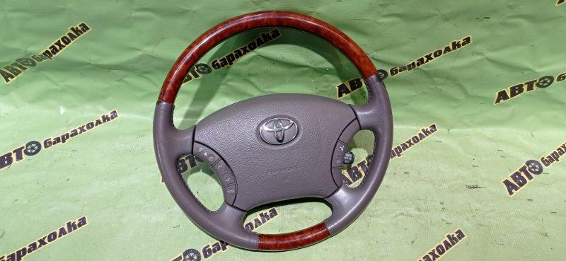 Руль с airbag Toyota Estima MCR30 1MZ-FE 2003