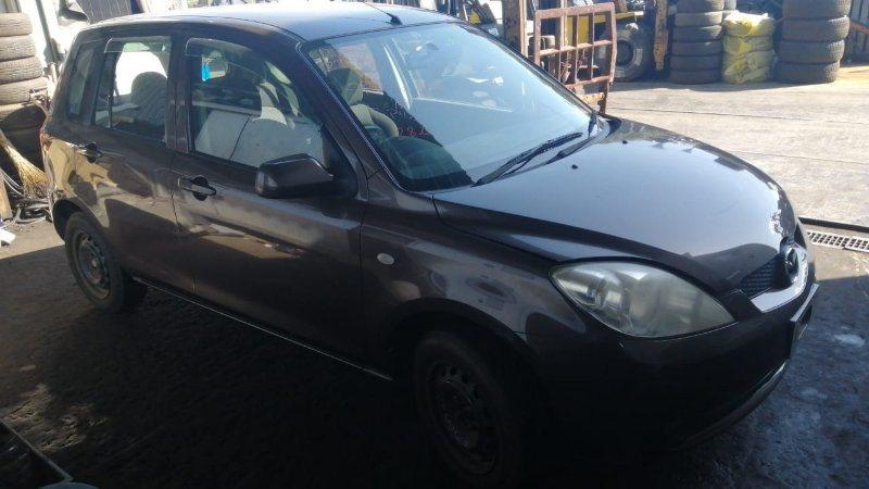 Стекло двери Mazda Demio DY3W ZJ 2006 переднее правое