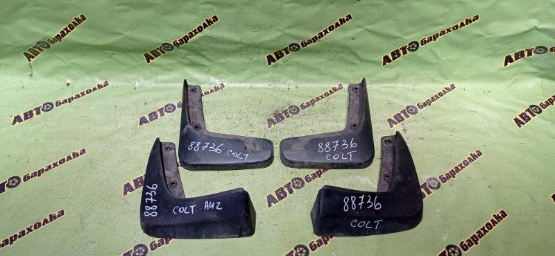 Брызговики комплект Mitsubishi Colt Z21A 4A90 2006