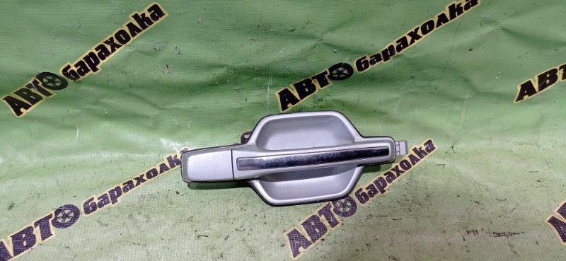 Ручка двери внешняя Mitsubishi Pajero V73W 6G72 2002 задняя правая