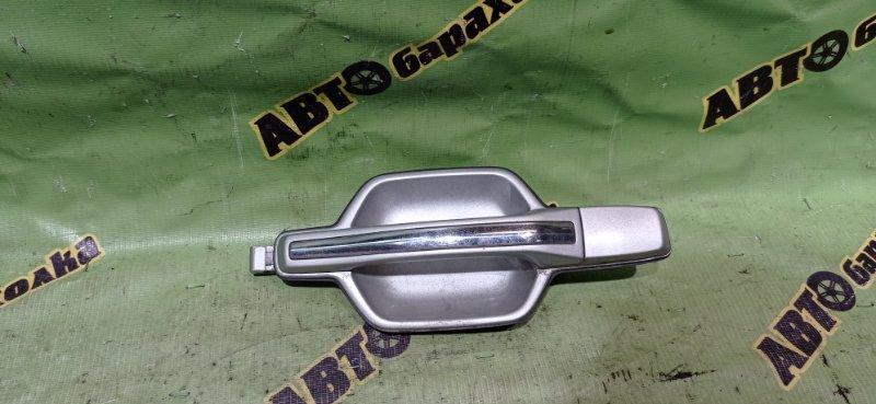 Ручка двери внешняя Mitsubishi Pajero V73W 6G72 2002 задняя левая
