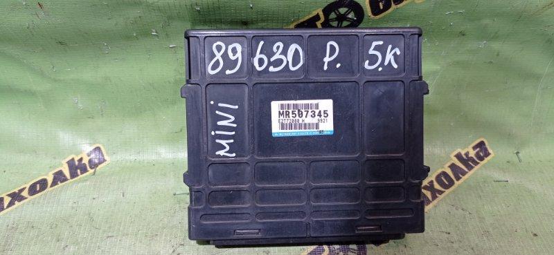 Блок efi Mitsubishi Pajero Mini H58A 4A30 1999