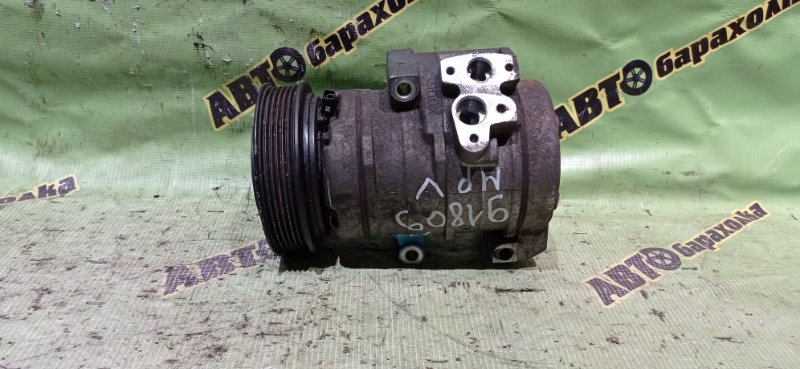 Компрессор кондиционера Mazda Mpv LW3W L3-DE