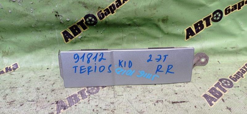 Планка под стоп Daihatsu Terios Kid J111G EF-DEM 2006 задняя правая