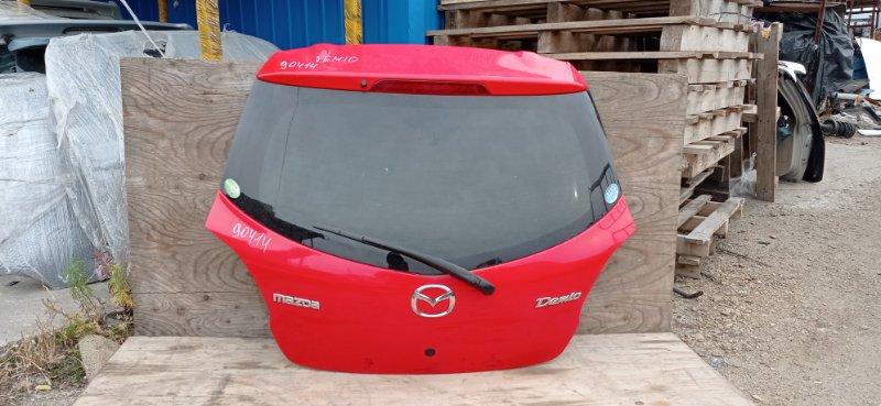 Дверь 5-я Mazda Demio DE3FS задняя