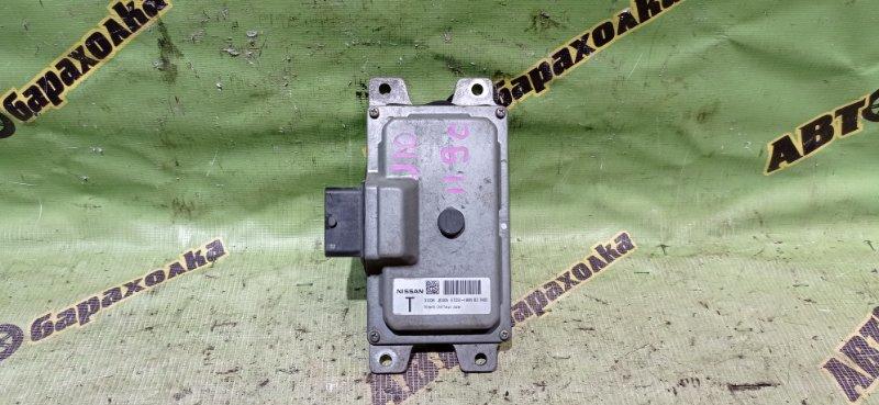 Блок переключения кпп Nissan Dualis J10 MR20(DE) 2007
