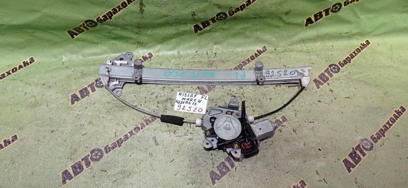 Стеклоподъемник Nissan March AK12 CR12(DE) 2005 передний левый