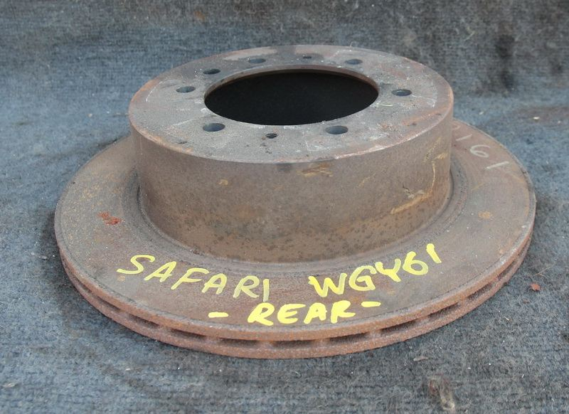 Тормозной диск Nissan Safari WGY61 TB45E задний левый (б/у)