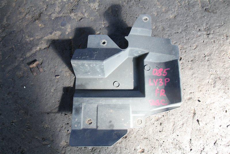 Защита двигателя Mazda Mpv LY3P L3VE 2006 передняя правая (б/у)