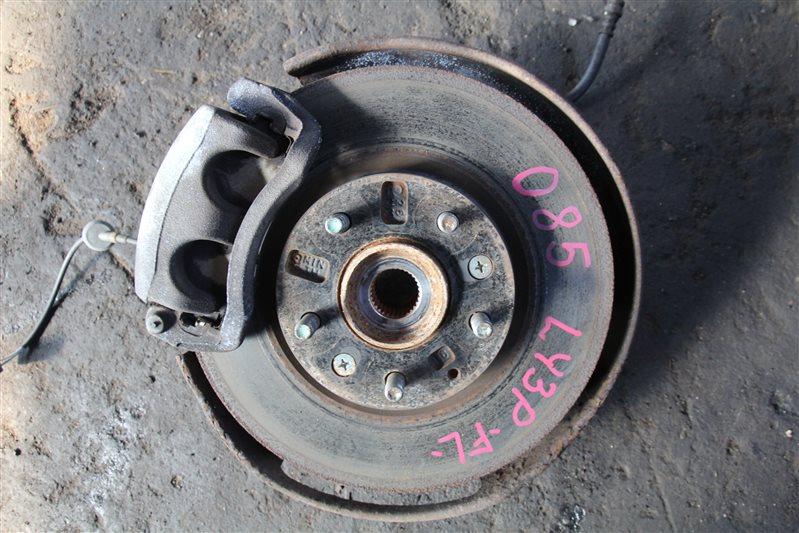 Ступица Mazda Mpv LY3P L3VE 2006 передняя левая (б/у)