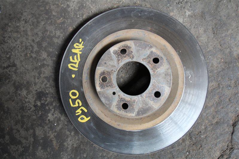 Тормозной диск Nissan Fuga PY50 VQ35DE передний (б/у)