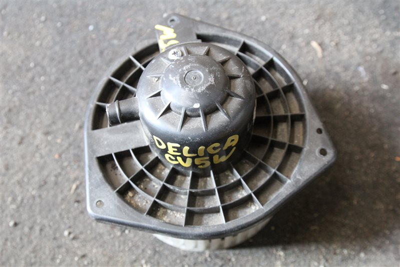 Мотор печки Mitsubishi Delica D5 CV5W 4B12 задний (б/у)