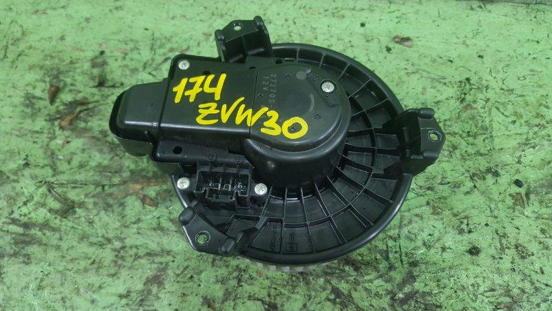 Мотор печки Toyota Prius ZVW30 2ZRFXE 2009 (б/у)