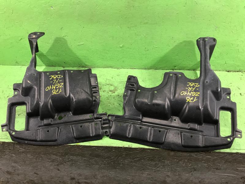 Защита двигателя Toyota Isis ZGM10 2ZRFAE 2009 (б/у)