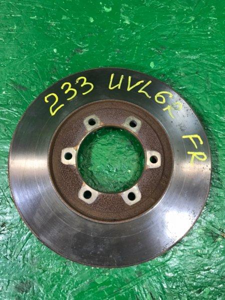 Тормозной диск Mazda Proceed Marvie UVL6R WLT 1996 передний правый (б/у)