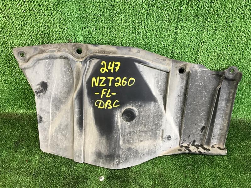 Защита двигателя Toyota Allion NZT260 1NZFE 2007 передняя левая (б/у)