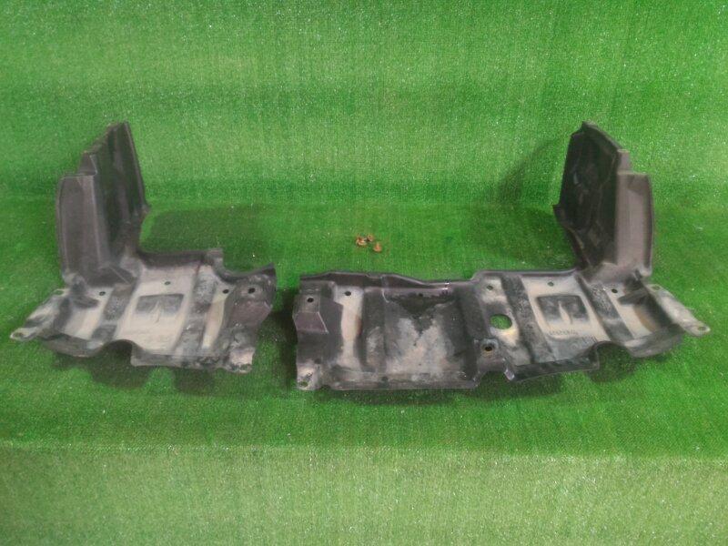 Защита двигателя Toyota Aqua NHP10 1NZFXE 2012 передняя (б/у)