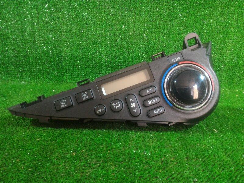 Блок управления климат-контролем Toyota Aqua NHP10 1NZFXE 2012 передний (б/у)