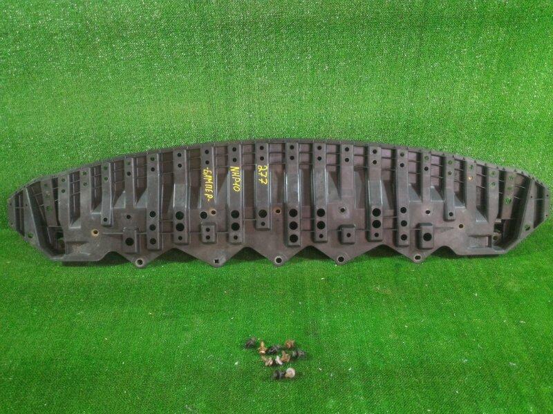 Защита бампера Toyota Aqua NHP10 1NZFXE 2012 передняя (б/у)