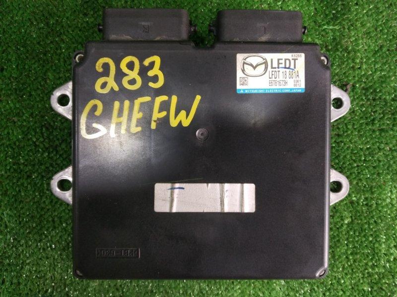 Блок управления efi Mazda Atenza GHEFW LFVD 2010 (б/у)