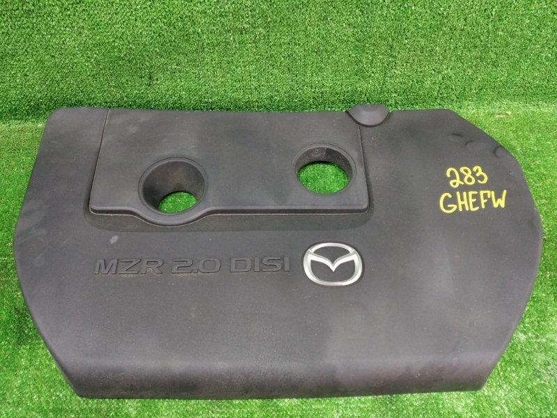 Крышка двс декоративная Mazda Atenza GHEFW LFVD 2010 (б/у)