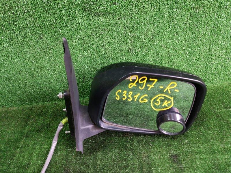 Зеркало Daihatsu Atrai S331G KFDET 2008 переднее правое (б/у)