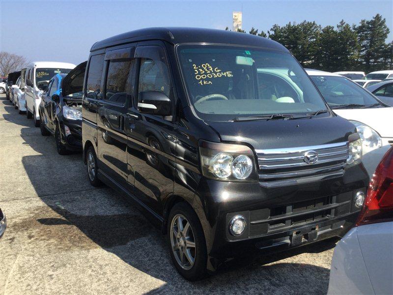 Стекло собачника Daihatsu Atrai S331G KFDET 2008 заднее правое (б/у)