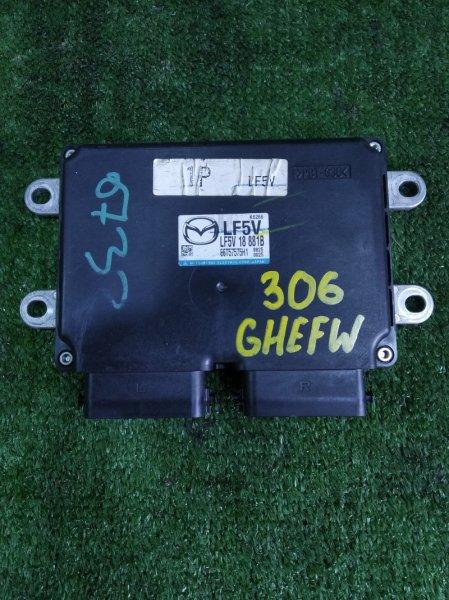 Блок управления efi Mazda Atenza GHEFW LFVD 2008 (б/у)